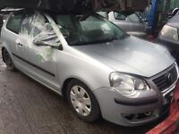 vw polo 2008 1.2 petrol silver - breaking for spares