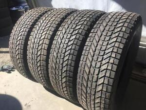 5 bolt steel Firestone winter tires 225 60 r17