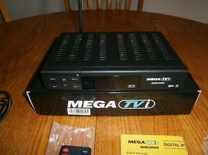 NEW! MEGA TVi SHD3000 HD FTA Satellite DREAMBOX REPLACEMENT