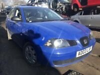 Seat Ibiza 2003 1.2 Petrol Blue 5dr Breaking For Spares - wheel nut