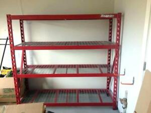 Snap-On 4-Shelf Storage Rack