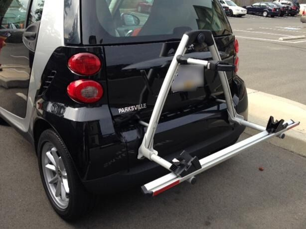 GENUINE SMART For Two Bike Rack - Two Bike Carrier RRP 750