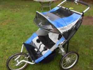 Two-Baby Stroller:  CHARIOT  Cavalier 2, Excellent Condition!