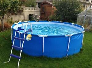 10/30 Intex  swimming pool  ( not a blow up)