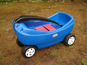 Little Tikes Wagon with 2 seats