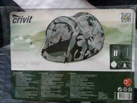 Brand New CRIVIT 2Persons pop up Tents