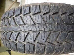 4 X UNIROYAL TIGER PAW ICE SNOW 195 65 15 HIVER WINTER TIRES