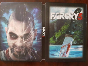 Steel Book edition of FarCry 3 for PS3