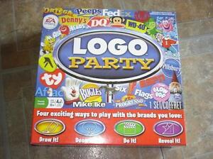 Logo Party - Board Game Complete w/ Instructions
