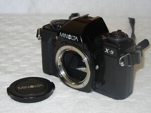 CAMERA MINOLTA X-9 35mm with accessories Gatineau Ottawa / Gatineau Area image 1