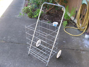 ISO: newspaper delivery cart