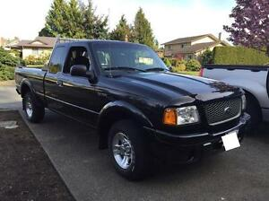 REDUCED - 2002 Ford Ranger SuperCab