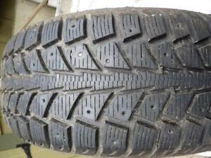 4  UNIROYAL TIGER PAW ICE SNOW 195 65 15 PNEU HIVER WINTER TIRES