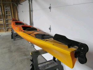 Kayak de mer Double Necky Looksha T 19 pieds et équipement