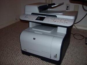 All-in-one HP Color LaserJet Printer + ink