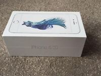 IPHONE 6S 16GB * SILVER * 02 NETWORK VGC