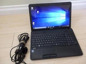 Toshiba 15.6 inch laptop in very good working condition.
