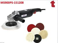 SEALEY MS900PS SANDER POLISHER 170/180MM 6-SPEED 1300W VARIABLE SPEED & KIT 8PC