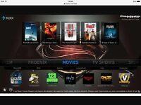 Apple tv 4th Generation New Kodi Tv Box Watch movies tv shows live tv
