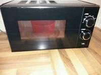 EGL T Black Manual Microwave