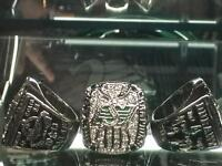 Saskatchewan Roughriders 2013 Grey Cup Ring Durant and Sheets