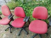Red Office/ Desk CHAIRS