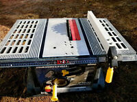 """MasterCraft 10"""" Table Saw - Working Great"""