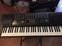 Electric Keyboard / Piano / Organ, with Stand