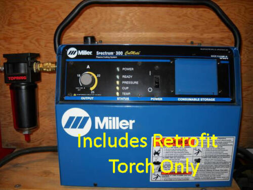 Replacement Plasma Cutter Torch to FIX REPAIR Miller® Spectrum 300 ICE-25 Torch