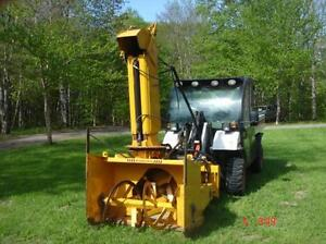 """REDUCED"" 2006 Benco BSN 50 Industrial Sidewalk Blower"