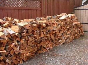 DRY FIR firewood, cut, split, and delivered.