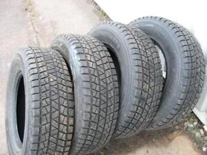 PNEUS D'HIVER - WINTER TIRES 235/70R16