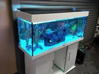 Juwel Rio White 240 Marine/Tropical Fish Tank Aquarium