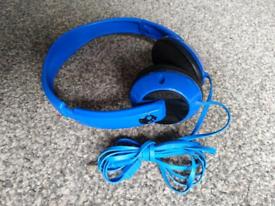 Skullcandy headphones blue