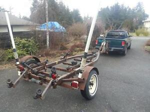 Boat trailer for up to an 18 ft.