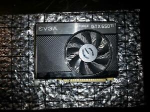 EVGA Nvidia GTX 650Ti Video Card $60 obo