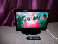 "19"" ALBA LCD TV built-in digital freeview"