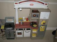 Little Tikes Kitchen with BBQ and ACcesories