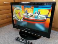 "22"" Matsui LCD Built-in Digital Freeview and DVD"