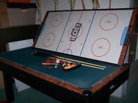 Gamecraft pool / air hockey combo table