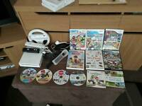 Nintendo Wii with lot's of skylanders and other games