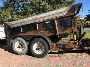Wanted old dump trailer