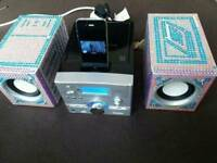 ALBA Micro System CD with Docking station