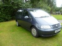 CHEAP 2005 55 Plate VW Volkswagen Sharan 1.9 TDI AUTOMATIC 7 Seater FSH