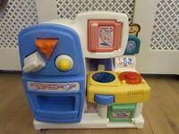 Little tikes baby kitchen playset shape sorter LITTLE TIKES