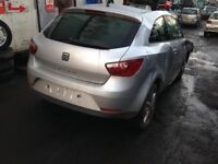 Seat Ibiza 2012 1.4 Petrol Silver 2dr E/C: CGG - Breaking For Spares