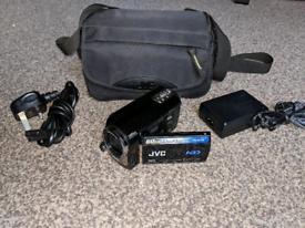 JVC GZ-MG365 Slim HDD/micro SD Hybrid Camcorder