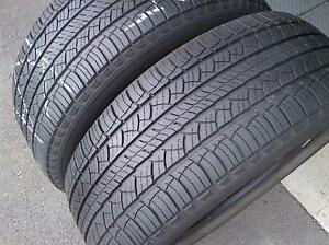 Set of 2 235/65/18 Michelin 70% tread