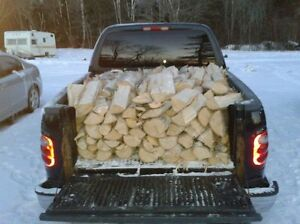 camping firewood by the half ton load