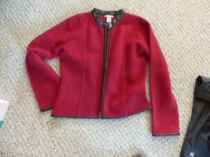 FELTED 100% BOILED WOOL JACKET.PAID $225. SELL FOR $35. VG Cond.